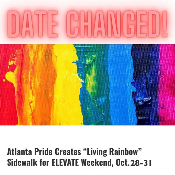 Atlanta Pride to Create 1000-Foot-Long Rainbow Installation a