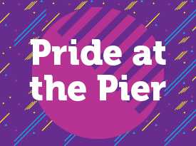 Pride on the Pier - Se abre en una ventana nueva
