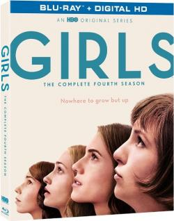 """""""Girls - The Complete Fourth Season"""" on Blu-ray from HBO!"""