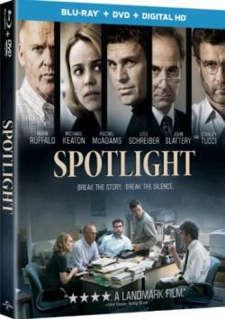 SPOTLIGHT on Blu-ray!