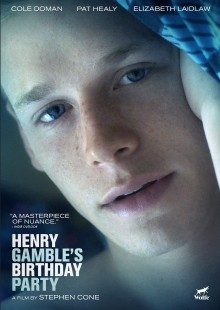"""Festival-Favorite """"HENRY GAMBLE'S BIRTHDAY PARTY"""" on DVD from Wolfe Video!"""