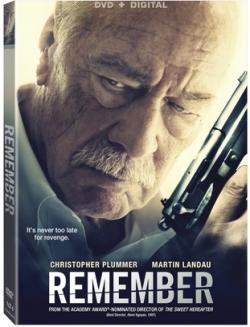REMEMBER starring Christopher Plummer on DVD!