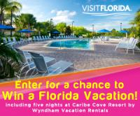 VISIT FLORIDA Getaway to Caribe Cove Resort by Wyndham Vacation Rentals!