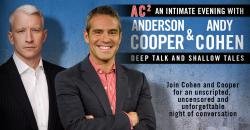 Tickets to AC2: An Intimate Evening With Anderson Cooper And Andy Cohen on October 15 at 8PM at The Fabulous Fox Theatre in St. Louis!
