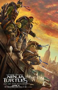 """Tickets to the NYC Premiere of """"TEENAGE MUTANT NINJA TURTLES: OUT OF THE SHADOWS""""!"""
