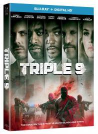 TRIPLE 9 on Blu-ray!