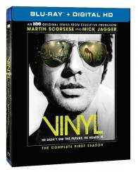 VINYL: THE COMPLETE FIRST SEASON on Blu-ray!
