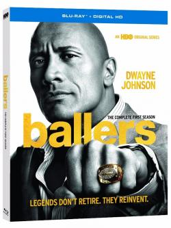 BALLERS - THE COMPLETE FIRST SEASON on Blu-ray!