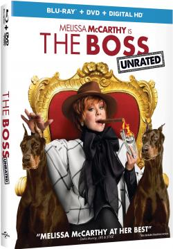 """The Boss"" on Blu-ray starring Melissa McCarthy!"