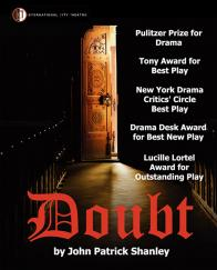 Tickets to see DOUBT presented by International City Theatre on August 26 at 8PM!