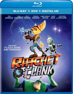 RATCHET & CLANK on Blu-ray!