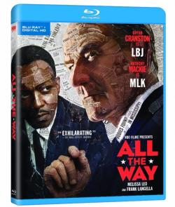 ALL THE WAY on Blu-ray from HBO!
