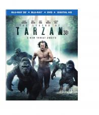 THE LEGEND OF TARZAN on Blu-ray!
