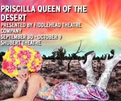 Tickets to see PRISCILLA QUEEN OF THE DESERT on Friday September 30!