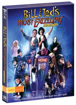 """""""Bill & Ted's Most Excellent Collection"""" on Blu-ray from Shout! Factory!"""