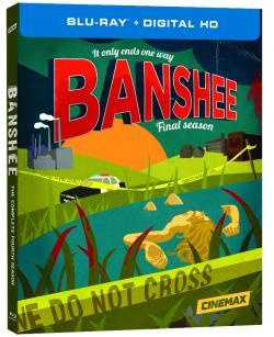 BANSHEE - THE COMPLETE FOURTH SEASON on Blu-ray!