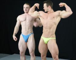 """""""Steel vs Travis - Bodybuilder Battle 91"""" on DVD from Thunders Arena Wrestling!"""