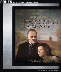 HOWARD'S END on Blu-ray from Cohen Film Collection!