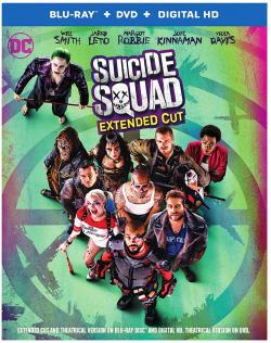 SUICIDE SQUAD EXTENDED CUT on Blu-ray!