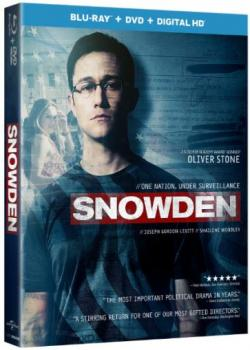 SNOWDEN on Blu-ray!