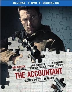THE ACCOUNTANT on Blu-ray!