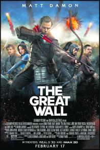 Tickets to see a Special Advance Screening of <br> THE GREAT WALL!