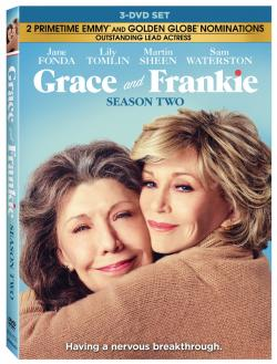 GRACE AND FRANKIE - SEASON TWO on DVD!