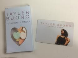 "Digital Download Of ""Technically Single"" Remix EP from Tayler Buono!"