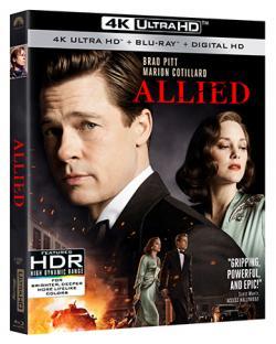 ALLIED on 4K Ultra HD & Blu-ray!