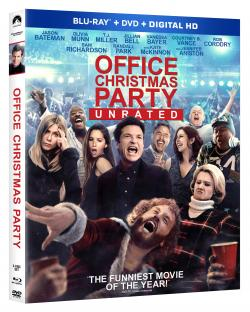 OFFICE CHRISTMAS PARTY Grand Prize Including Blu-ray & T-Shirt!