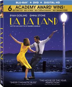 LA LA LAND on Blu-ray!