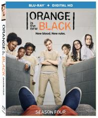ORANGE IS THE NEW BLACK - SEASON FOUR on Blu-ray!