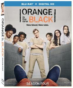 ORANGE IS THE NEW BLACK - SEASON FOUR on Blu-ray!