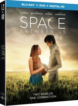 THE SPACE BETWEEN US on Blu-ray!