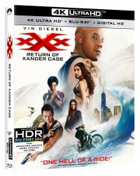 XXX: RETURN OF XANDER CAGE on 4K Ultra HD Combo Pack!