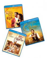 "Shout Broadway Spring Trio: ""Kiss Me, Kate,"" ""Oklahoma,"" and ""Man of La Mancha"" Blu-ray Set!"