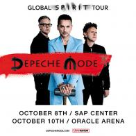 Tickets to see DEPECHE MODE on October 8 at SAP Center!