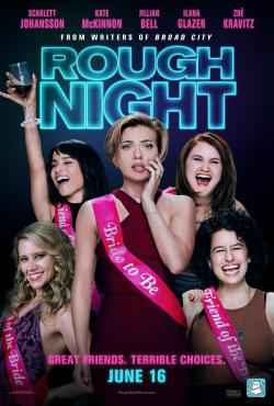 Enter for a chance to win a Rough Night bachelorette party prize pack!