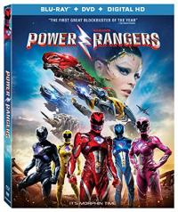 Saban's POWER RANGERS on Blu-ray!