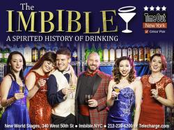 Tickets to see THE IMBIBLE: A SPIRITED HISTORY OF DRINKING!