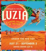 Enter to win tickets to LUZIA by Cirque du Soleil!