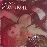 """Digital Download Card For Majesty's """"Living In The Moonlight"""" Remixes!"""