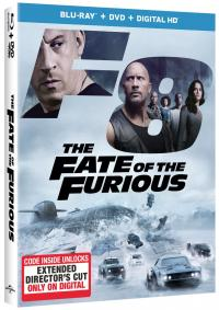THE FATE OF THE FURIOUS on Blu-ray!