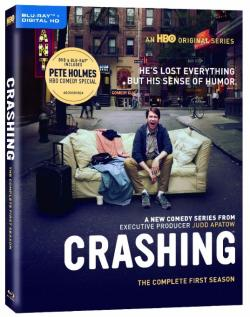 """CRASHING - The Complete First Season"" on Blu-ray & Digital HD from HBO!"
