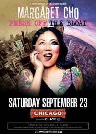 A Pair of Tickets to see Margaret Cho's Fresh Off The Bloat Tour at The Chicago Theatre on September 23!