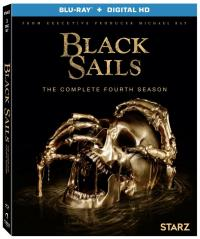 BLACK SAILS - THE COMPLETE FOURTH SEASON on Blu-ray & Digital HD!