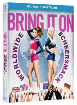 BRING IT ON: WORLDWIDE #CHEERSMACK on Blu-ray!