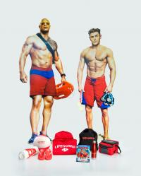 BAYWATCH Prize Package including 4K Edition and Zac Efron/Dwayne Johnson Standees!