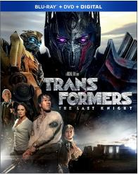 TRANSFORMERS: THE LAST KNIGHT on Blu-ray!