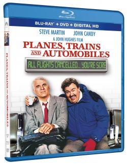 PLANES, TRAINS AND AUTOMOBILES on Blu-ray!